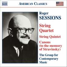 Roger Sessions (1896-1985): Streichquartett Nr.1, CD