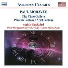 Paul Moravec (geb. 1957): The Time Gallery, CD