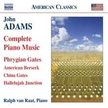 John Adams (geb. 1947): Klavierwerke, CD