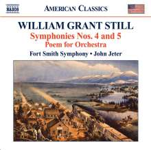 William Grant Still (1895-1978): Symphonien Nr.4 & 5, CD