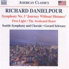"""Richard Danielpour (geb. 1956): Symphonie Nr.3 """"Journey without Distance"""", CD"""