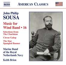 John Philip Sousa (1854-1932): Music for Wind Band Vol.16, CD