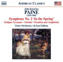John Knowles Paine (1839-1906): Symphonie Nr.2, CD
