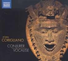"""John Corigliano (geb. 1938): Konzert für Percussion & Streichorchester """"Conjurer"""", CD"""