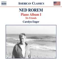 "Ned Rorem (geb. 1923): Klavierwerke ""Piano Album I"", CD"