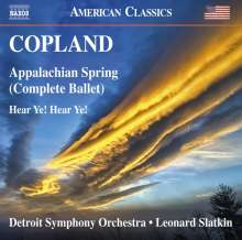 Aaron Copland (1900-1990): Appalachian Spring, CD