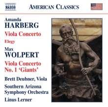Amanda Harberg (geb. 1973): Violakonzert, CD
