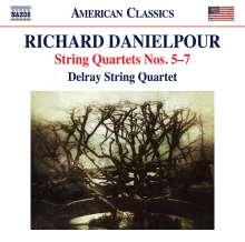 "Richard Danielpour (geb. 1956): Streichquartette Nr.5-7 - ""Urban Dances"", CD"