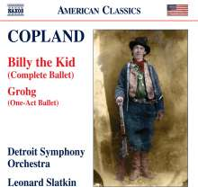 Aaron Copland (1900-1990): Billy the Kid, CD