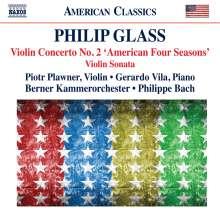 "Philip Glass (geb. 1937): Violinkonzert Nr.2 ""The American Four Seasons"" (2009), CD"