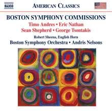 Boston Symphony Orchestra - Boston Symphony Commissions, CD