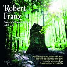 Robert Franz (1815-1892): Gesammelte Osterwald-Lieder und -Gesänge, 2 CDs