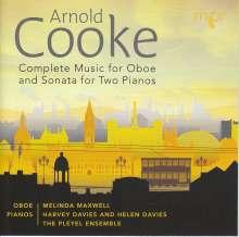 Arnold Cooke (1906-2005): Kammermusik mit Oboe, CD