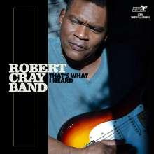 Robert Cray: That's What I Heard (180g), LP