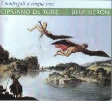Cipriano de Rore (1516-1565): I Madrigali a qinque voci (Venedig 1542), 2 CDs
