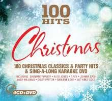 100 Hits-Christmas, 4 CDs und 1 DVD