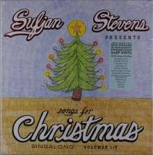 Sufjan Stevens: Songs For Christmas Vol. I-V EP (Box-Set), 5 LPs