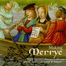 Making Merrye, CD