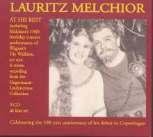 Lauritz Melchior At His Best, 3 CDs