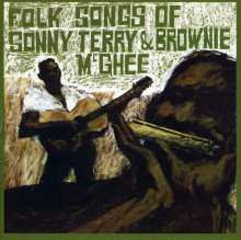 Mcghee: Folk Songs Of Sonny Ter, CD
