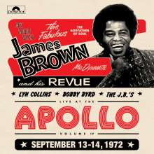 James Brown: Get Down With James Brown: Live At The Apollo Vol. IV, September 13-14, 1972, 2 LPs