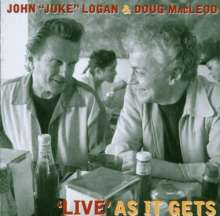 Logan & Macleod: Live As It Gets, CD