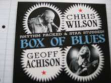 Geoff Achison: Box Of Blues, CD