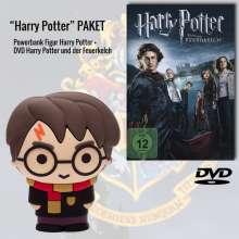 Harry Potter und der Feuerkelch (Geschenkset mit Harry Potter Powerbank), 1 DVD und 1 Merchandise