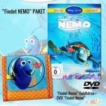 Findet Nemo (Geschenkset mit Findet Dori Geldbeutel), 1 DVD und 1 Merchandise