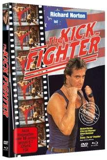 The Kick Fighter (Blu-ray & DVD im Mediabook), 1 Blu-ray Disc und 1 DVD