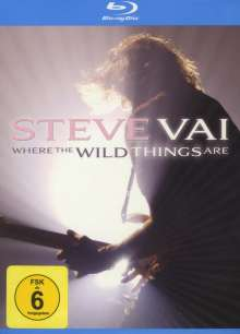 Steve Vai: Where The Wild Things Are: Live In Minneapolis 2007, 2 Blu-ray Discs