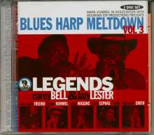 Blues Harp Meltdown 3, CD