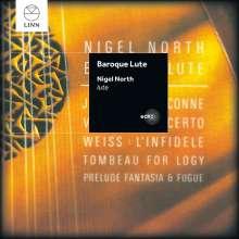 Nigel North - Baroque Lute, CD