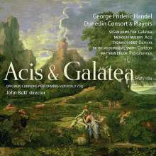 Georg Friedrich Händel (1685-1759): Acis und Galatea (Cannons Performing Version 1718), 2 CDs