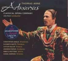 Thomas Arne (1710-1778): Artaxerxes, 2 Super Audio CDs