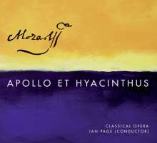 Wolfgang Amadeus Mozart (1756-1791): Apollo & Hyacinthus KV 38, Super Audio CD