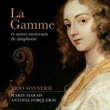 Marin Marais (1656-1728): La Gamme für Violine,Viola da gamba & Cembalo, CD