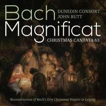 Johann Sebastian Bach (1685-1750): Magnificat Es-Dur BWV 243a, Super Audio CD
