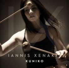 Kuniko - Iannis Xenakis, Super Audio CD