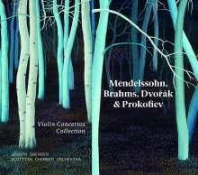 Joseph Swensen - Violin Concertos Collection, 4 CDs