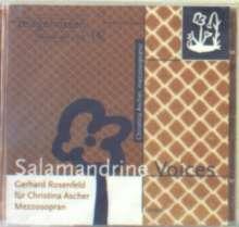 Gerhard Rosenfeld (1931-2003): Kompositionen für Christina Ascher, CD