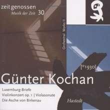 Günter Kochan (1930-2009): Violinkonzert op.1, CD