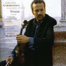 Antonio Vivaldi (1678-1741): Violinkonzerte RV 177,191,222,273,295,375, CD