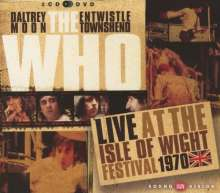 The Who: Live At The Isle Of Wight Festival 1970, 2 CDs und 1 DVD