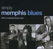 Simply Memphis Blues (Metallbox), 3 CDs