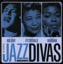 Jazz Sampler: The Essential Jazz Divas (Limited-Metalbox-Edition), 3 CDs