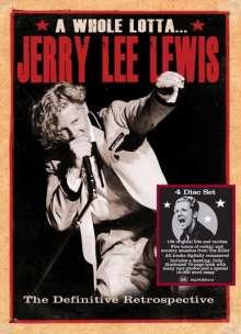 Jerry Lee Lewis: A Whole Lotta...: The Definitive Retrospection, 4 CDs