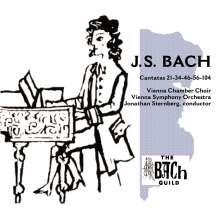 Johann Sebastian Bach (1685-1750): Kantaten BWV 21,34,46,56,104, 2 CDs
