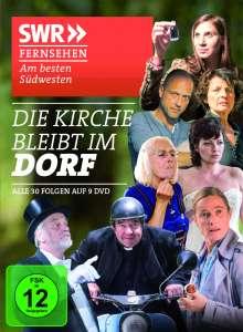 Die Kirche bleibt im Dorf (Komplette Serie), 9 DVDs