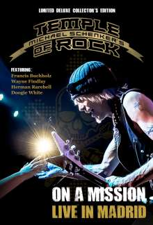 Michael Schenker: On A Mission - Live In Madrid (Limited Deluxe Edition), 2 CDs und 2 Blu-ray Discs